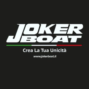 Joker VectorJboat Official Italian black background whiote letters